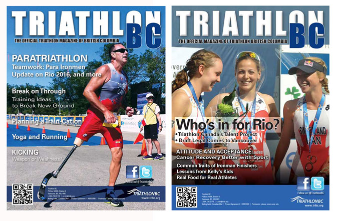 Triathlon BC cover