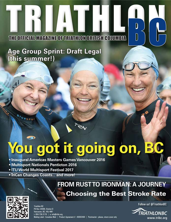 Triathlon BC 2016 cover
