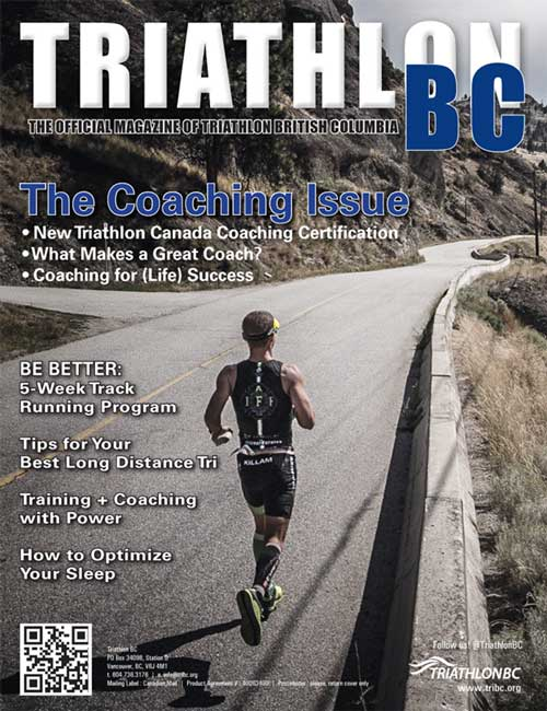 Triathlon BC cover 2015
