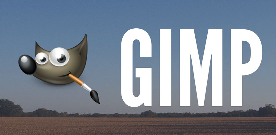 Using free software GIMP to edit images