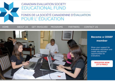 Canadian Evaluation Society Educational Fund (CESEF)