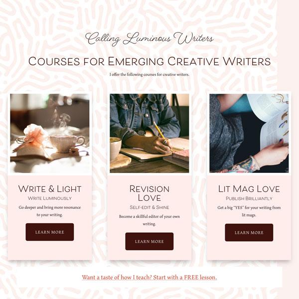 Rachel Thompson WordPress website mockup