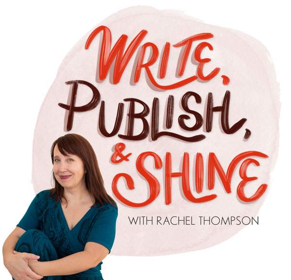 Rachel Thompson in blue dress