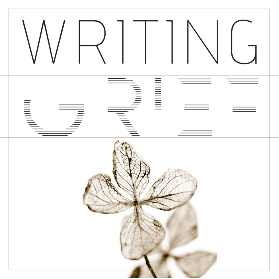 Art for Writing Grief podcast